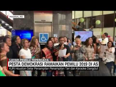 Pesta Demokrasi Ramaikan Pemilu 2019 di AS