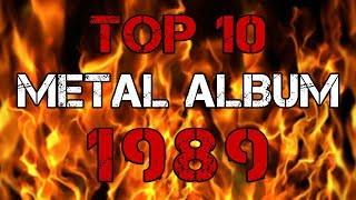 TOP 10 METAL ALBUM 1989 | Топ-10 метал-альбомов 1989 года + история метала