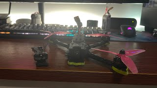 Broke an arm and motor, oops. FPV freestyle