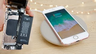 Get REAL Wireless Charging on Old iPhones! 7/6s/6 Mod - dooclip.me