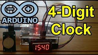 arduino uno 4 digit 7 segment display clock - मुफ्त