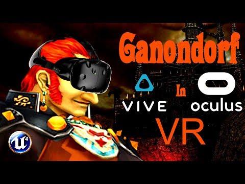 Lucha contra Ganon en Realidad Virtual