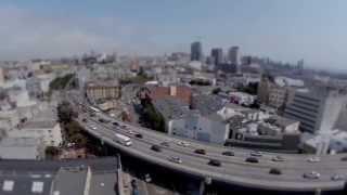 Aerial Tilt-Shift San Francisco - After Effects CC