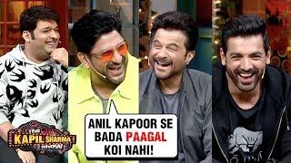 Arshad Warsi MAKES FUN Of Anil Kapoor With John, Urvashi, Kriti | The Kapil Sharma Show Pagalpanti