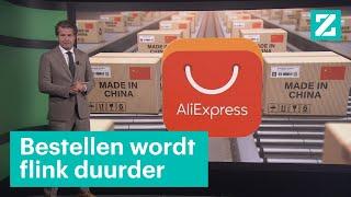 Waarom je pakketje uit China duurder wordt • Z zoekt uit