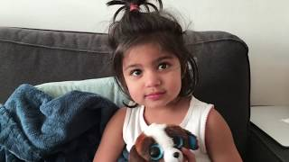 Interviewing a Toddler | In Conversation with a 3 year old | Funny talks