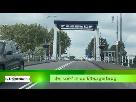 Elburgerbrug door storing nu ook afgesloten voor voetgangers en fietsers