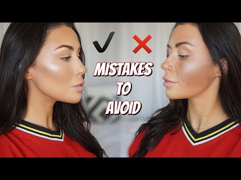 CONTOUR DO'S AND DONT'S | How to contour – what is contouring ! ?