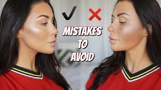 CONTOUR DO'S AND DONT'S | How to contour - what is contouring ! ?