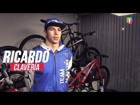 Ricardo Clavería Jr., triatleta Team Clavería 2019, compite con el CTOA Blue Power
