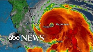Hurricane Dorian Slams The Bahamas As Cat 5 | ABC News