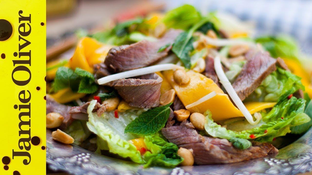 Tasty thai beef mango salad donal skehan ccuart Gallery