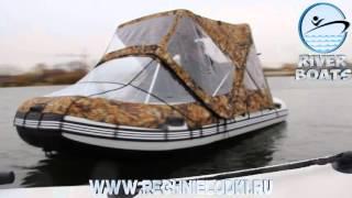 Ходовые тенты для лодок флагман