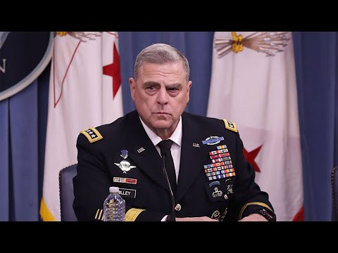 """General Milley Spotted """"Observing Protesters"""" ft. Artesia Balthrop"""