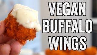 Cauliflower Buffalo Vegan Wings
