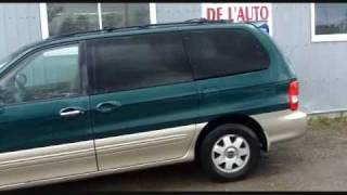 preview picture of video 'Roi de l'Auto - 2003 Kia Sedona ex occasion à vendre à Gatineau et financement 2e chance'