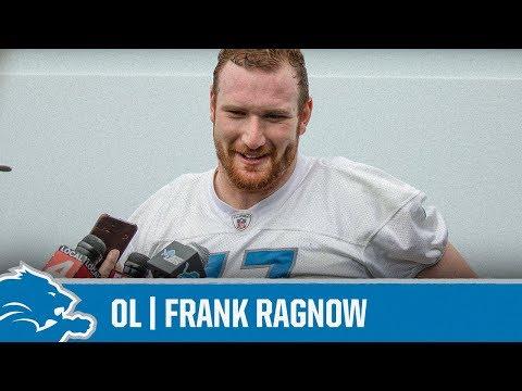 Frank Ragnow on position flexibility | Detroit Lions Sound Bites