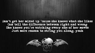 Avenged Sevenfold - Girl I Know [Lyrics on screen] [Full HD]
