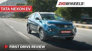 Tata Nexon EV Torture Test Review!   First Drive Test   Zigwheels.com