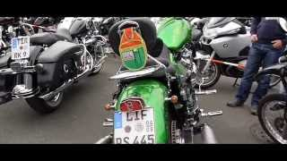 preview picture of video '14. Motorrad Sternfahrt Kulmbach 26. und 27. April 2014 (Impressionen)'