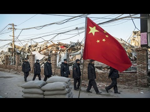 Beijing Like a War Zone After Forced Evictions | China Uncensored