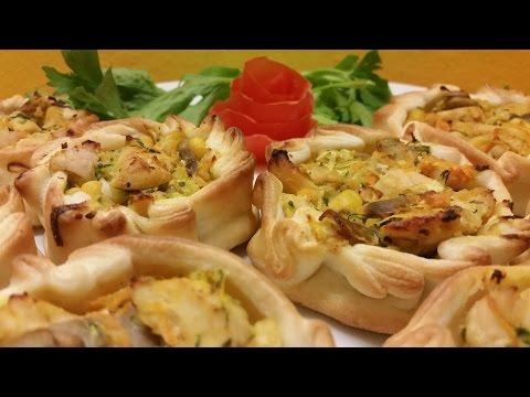 Receta: Canastitas de Pollo y Verduras - La Cocinadera