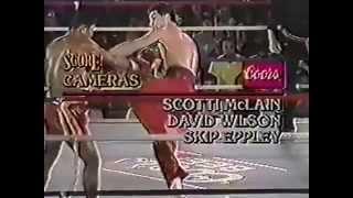 Rick Roufus (USA) vs Changpuek Kietsongrit (THA), Las-Vegas, USA. 1988.