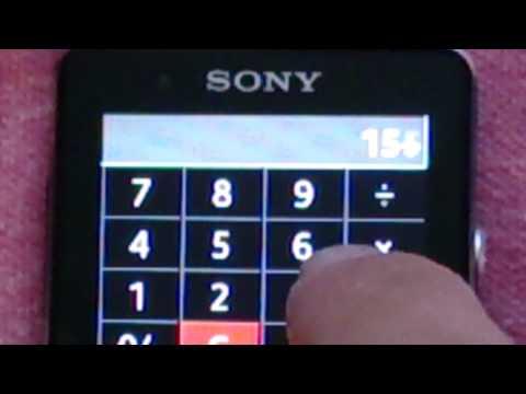 Video of 腕時計の電卓