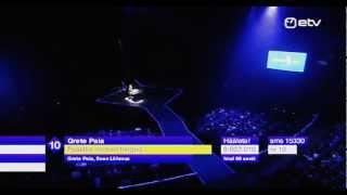 Grete Paia - Päästke noored hinged @ Eesti Laul 2013 [Eurovision] (Grand Final) [live]