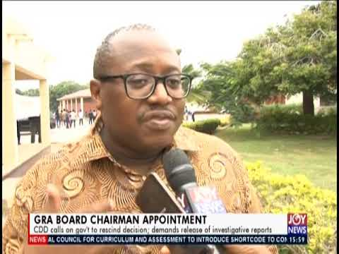 GRA Board Chairman Appointment - The Pulse on JoyNews (15-7-19)