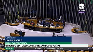 Plenário - Sessão para a votação de propostas legislativas - 22/12/2020 16:53