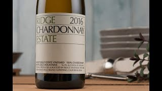 YouTube: Ridge Chardonnay Estate