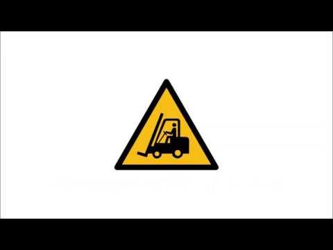 Warnzeichen DIN EN ISO 7010 - Kennzeichnung von Hindernissen und Gefahrstellen