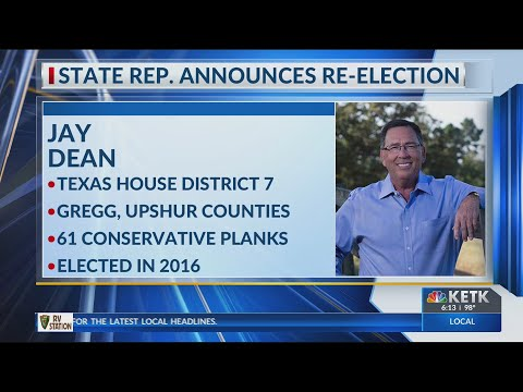 Texas Rep. Jay Dean announces re-election campaign