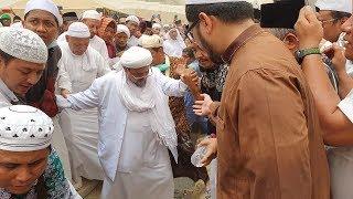 Pemakaman Mbah Moen dihadiri Rizieq Shihab