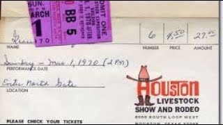 Elvis Houston Astrodome 1970 - The March 1 Concert