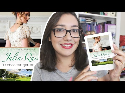 O VISCONDE QUE ME AMAVA por Julia Quinn | Amiga da Leitora