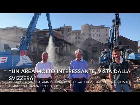 Area di via Carcano a Varese: parla il nuovo proprietario