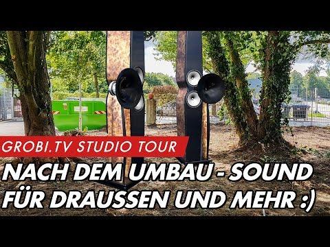 GROBI.TV Studio Tour - Aussenlautsprecher, neue Produkte und mehr  | Heimkinobau.de | GROBI.TV