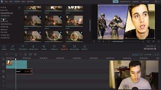 طريقة سهلة لعمل مونتاج فيديو بواسطة برنامج Filmora