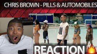 Chris Brown - Pills & Automobiles (Official Video) Featuring Yo Gotti, Kodak Black VIDEO REACTION