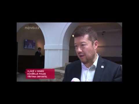 Tomio Okamura: Nejnovější průzkum pro TV Nova