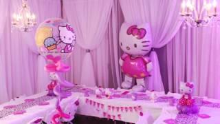 Tess Hello Kitty Birthday Party