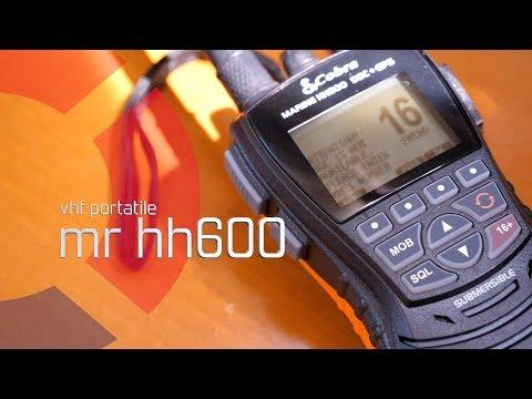 Vhf Cobra MR HH 600