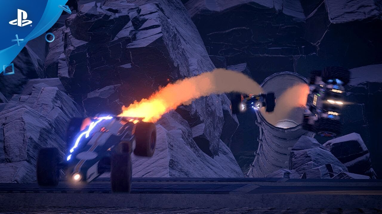 Futuristic Combat Racer Grip Announced, Coming to PS4