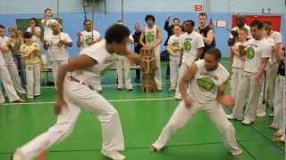 preview picture of video 'Batizado 2012 Capoeira Senzala Saint germain en Laye'