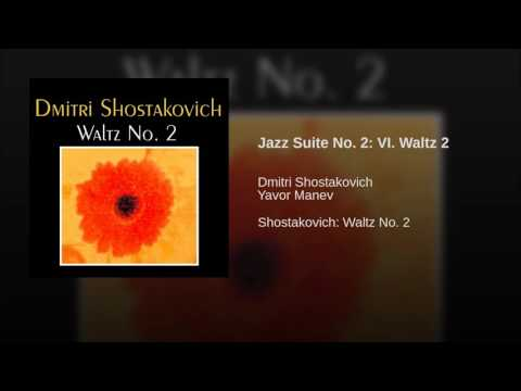 Shostakovich - Waltz 2 from the Jazz Suite No 2 (with score