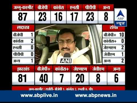 BJP's Ram Madhav is confident of forming Government in both states
