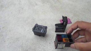 HP OfficeJet 5740 Printer - Incompatible Cartridge, Error