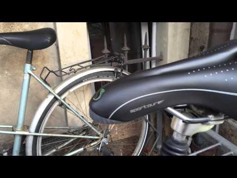 Bequem, Robust & Ideal fürs Cityrad: Sportourer Komfort Gel Sattel